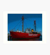 Nantucket Art Print