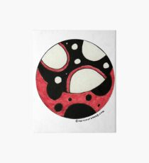 Ladybird Planet Art Board Print