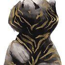 « Sumi-e Tiger » par Threeleaves