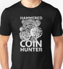 Metal detecting tshirt, hammered coin hunter  Unisex T-Shirt