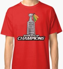Chicago BlackHawks Stanley Cup Champions Classic T-Shirt