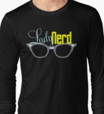 Proud LadyNerd (Grey Glasses) Long Sleeve T-Shirt