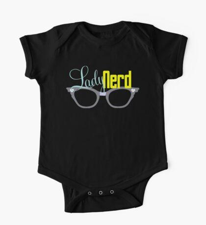 Proud LadyNerd (Grey Glasses) Kids Clothes
