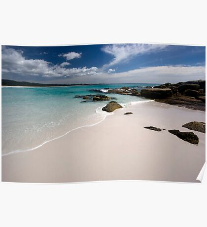 Bay of Fires   - Tasmania coast  Poster