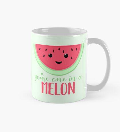 One in a MELON - Melon Pun - One in a million - Valentines Day Pun - Anniversary Pun - Birthday Pun - Fruit Pun  Mug