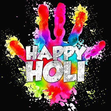 Happy Holi 2019 Indian Festival of Colors India  by Essetino