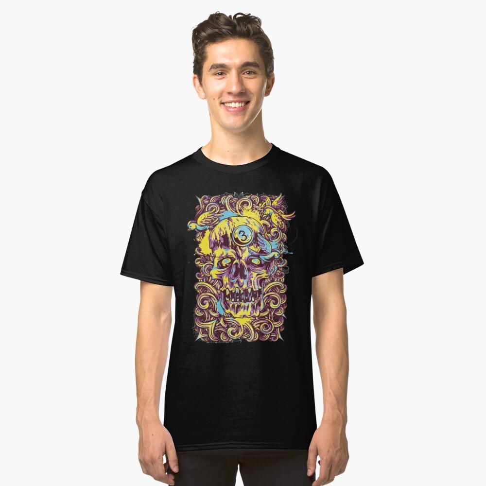 Sugar Skull Fashion Classic T-Shirt Front