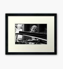Oscar Peterson Framed Print