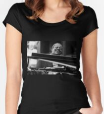Oscar Peterson Women's Fitted Scoop T-Shirt