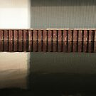 canal. reflections by Nikolay Semyonov