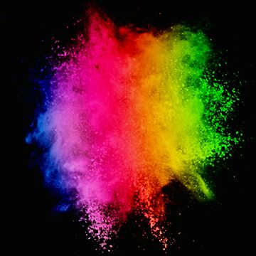 Happy Holi 2019 Indian Festival of Colors India Rainbow Powder by Essetino