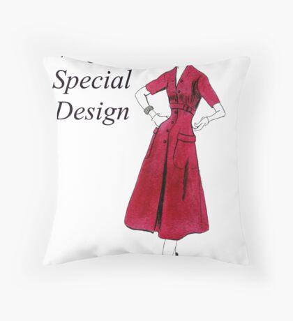 Vogue 1953 Throw Pillow