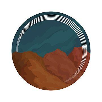 Desert Rocks by maryhorohoe