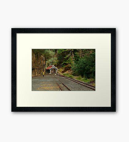 Railway Coach Shed,Walhalla  Framed Print