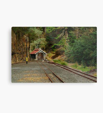 Railway Coach Shed,Walhalla  Metal Print
