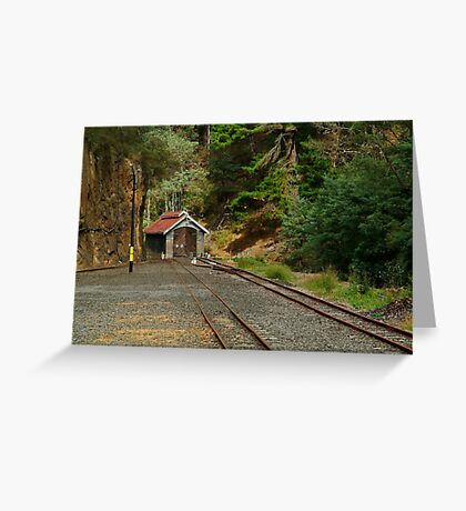 Railway Coach Shed,Walhalla  Greeting Card