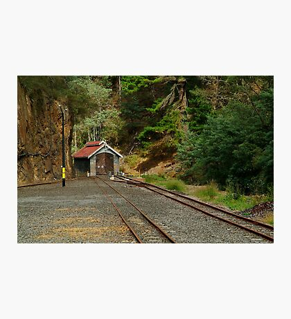 Railway Coach Shed,Walhalla  Photographic Print