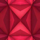 Origami - Fuchsia  by Lyle Hatch