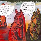 Valentine Horses by Juhan Rodrik