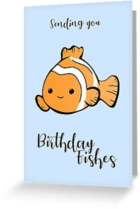 Sending You Birthday FISHes