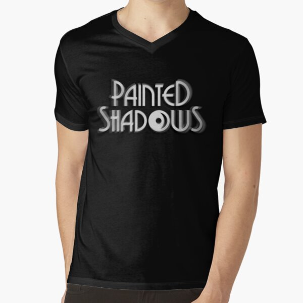 Painted Shadows Logo V-Neck T-Shirt