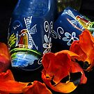 Blue Clogs and Tulip memories... by Marjorie Wallace