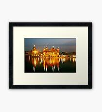 Harimandir Sahib, Amritsar Framed Print