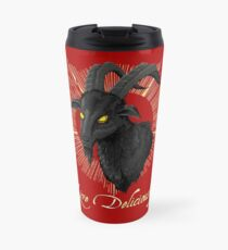 Black Phillip - Live Deliciously (The Witch) Travel Mug