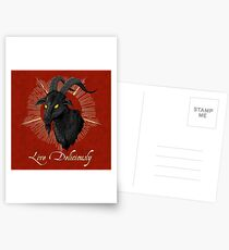 Black Phillip - Live Deliciously (The Witch) Postcards
