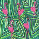 Flamingo Jungle Vibe by DanielleGensler