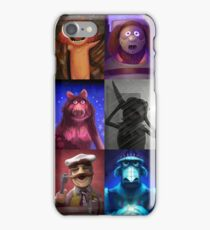 Muppet Maniacs Series 1 iPhone Case/Skin