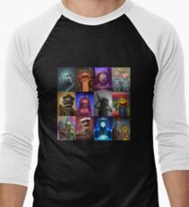 Muppet Maniacs Series 1 Men's Baseball ¾ T-Shirt