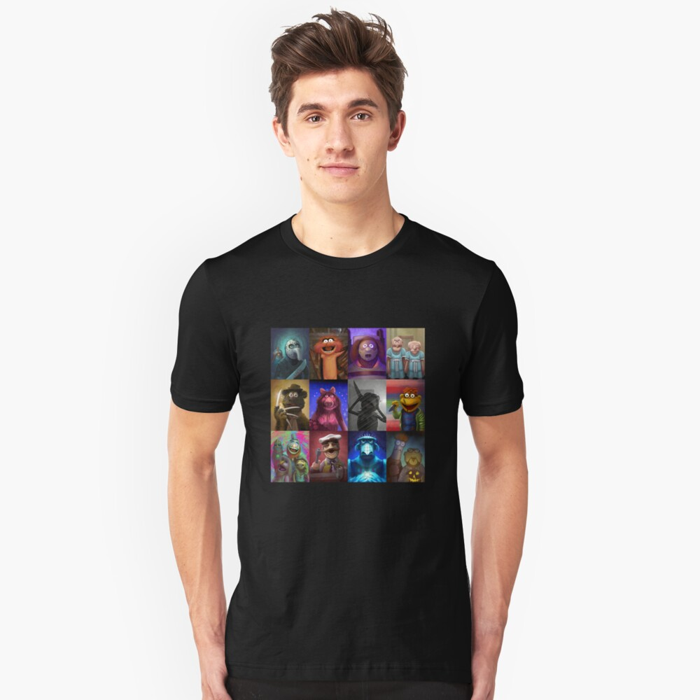 Muppet Maniacs Series 1 Unisex T-Shirt Front