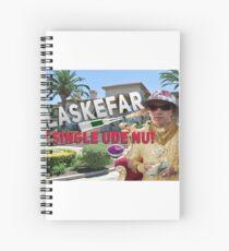 Plaskefar ALT!! Spiral Notebook