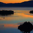 Emerald Bay At Sunrise by Laura Puglia