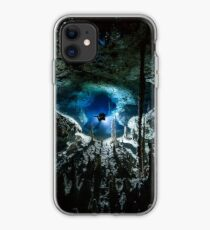 Cave diving iPhone Case