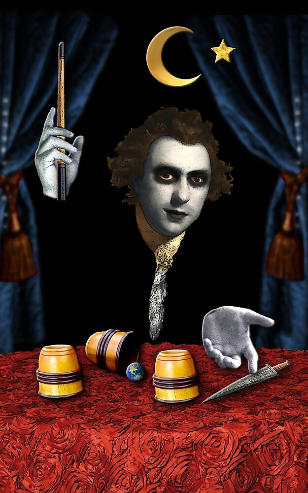 The Dark Magician by DuckSoupDotMe