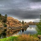 Rainy Day Dells by K D Graves Photography
