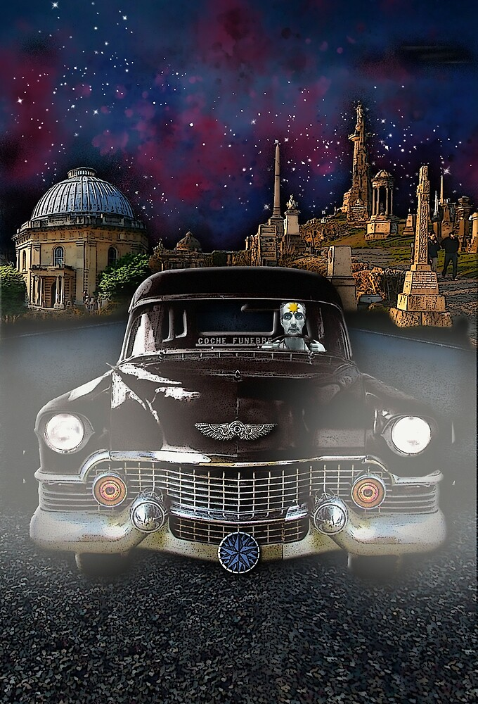 The Hearse Driver by DuckSoupDotMe