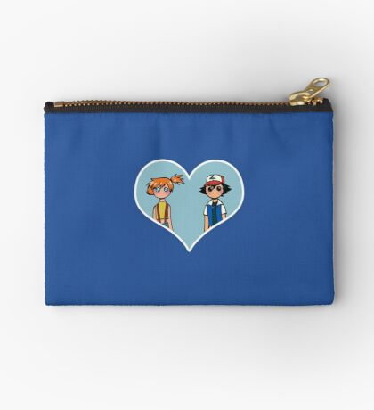 Misty and Ash - shipping dolls Zipper Pouch