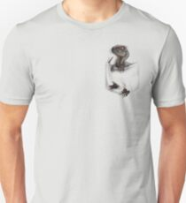 Pocket Protector - Male Raptor T-Shirt
