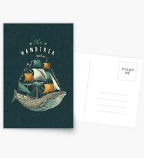 Whale | Petrol Grey Postcards