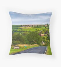 Lealholm North Yorkshire Moor  Throw Pillow