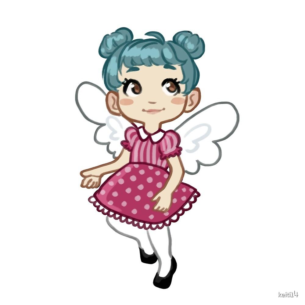Kawaii Angel Girl Chibi By Keiti14 Redbubble