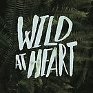 Wild at Heart Ferns by Leah Flores