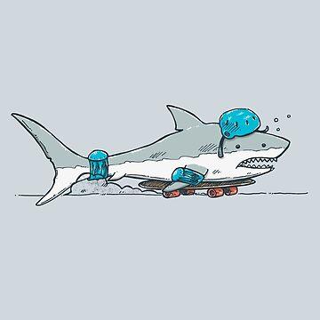 The Shark Skater by nickv47