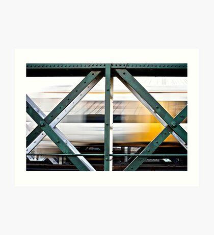 Hungerford Train Art Print