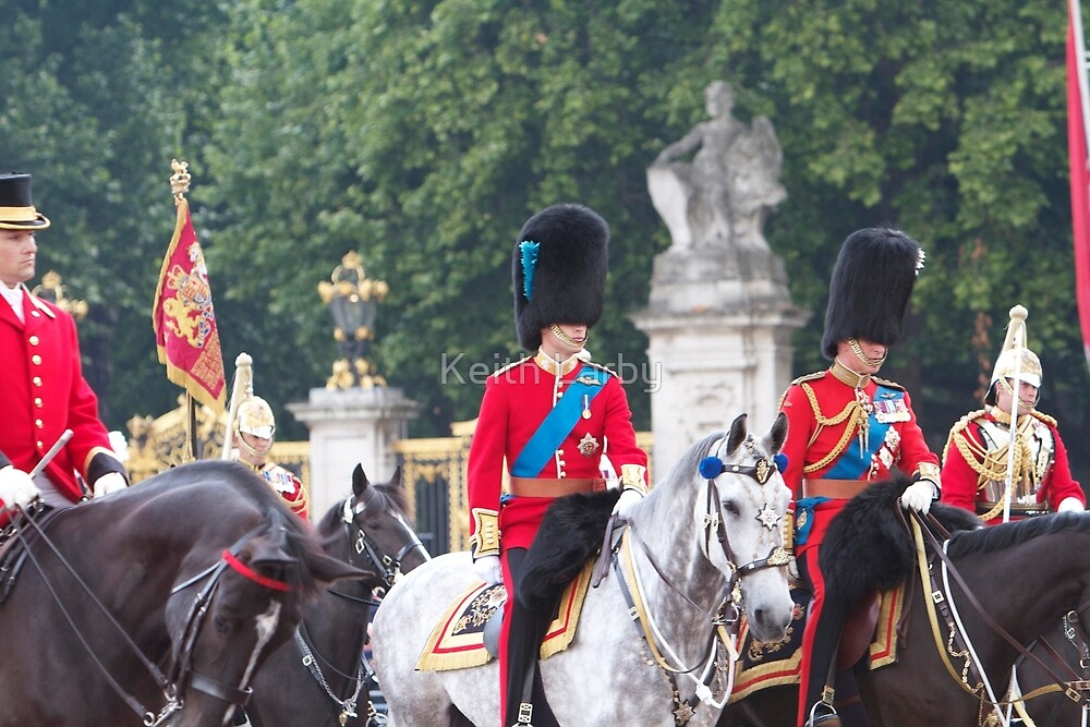 Prince William, the duke of Cambridge on horseback by Keith Larby
