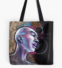 Man Human zen black goth Buddhism philosophy buddhist Tote Bag