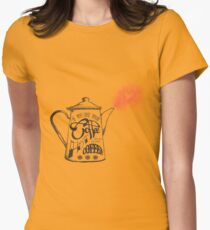 If You Like Your Coffee Hot... Womens Fitted T-Shirt
